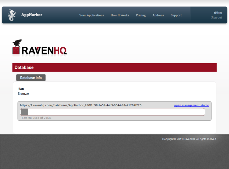 RavenHQ Screenshot