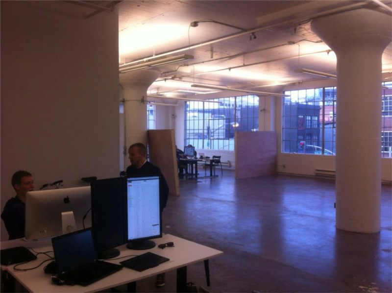 Rune demoing the new AppHarbor Office
